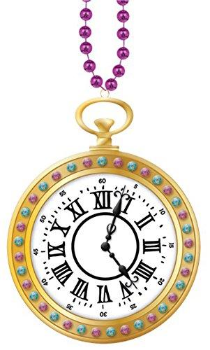 Hatter Tea Party Uhren Kette, 91 cm lang, Mehrfarbig (Einfache Halloween-süßigkeiten Basteln)