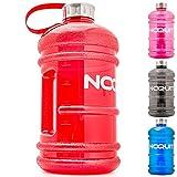 NOQUIT Water Jug 2 Liter - Fitness Trinkflasche...