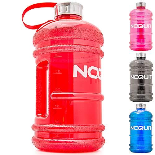 NOQUIT Water Jug 2 Liter - Fitness Trinkflasche für mehr Leistung im Bodybuilding - Grosse 2.2L Wasserflasche - Gym Bottle