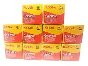 10 Rullini Kodak Color Plus 35mm 200/36 - Conf. da 10 pz. - Pellicola - Rullino - Fotografia