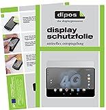 dipos I 2X Schutzfolie matt passend für Allview Viva H1002 LTE Folie Bildschirmschutzfolie
