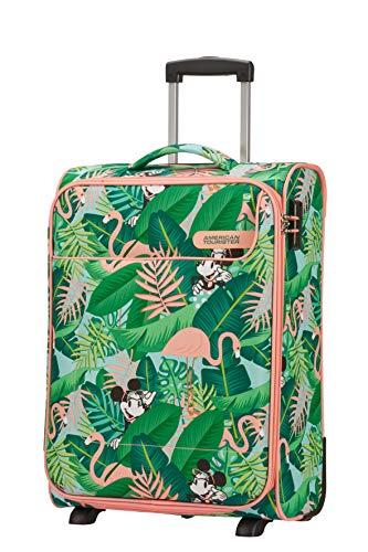 American Tourister Funshine Disney Equipaje de Mano, 55 cm, 39 litros, (Minnie Miami Palms)