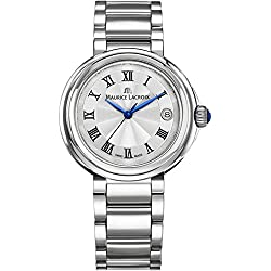 Maurice Lacroix Fiaba Round FA1007-SS002-110-1 Reloj de Pulsera para mujeres Fabricado en Suiza