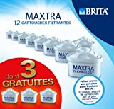 Pack of 12 Brita Maxtra Filter Cartridges (9 + 3 free). 12 Cartridges in total.