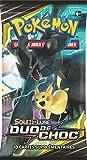 Pokemon- Modèle aléatoire Booster Soleil et Lune-Duo de Choc (SL09), POSL902, Cartes à Collectionner