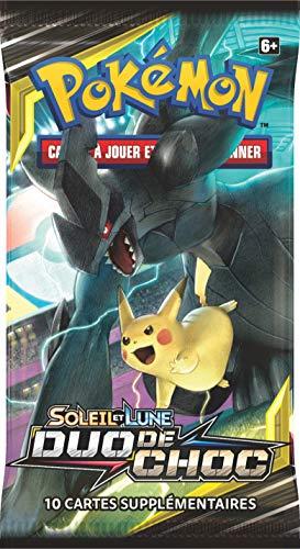 Pokemon Modelo Aleatorio Booster Sol y Lune-Duo de Choque (SL09), posl902, Cartas coleccionables