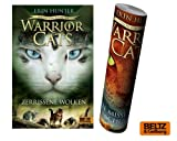 Warrior Cats - Vision von Schatten. Zerrissene Wolken Staffel VI, Band 3 + Warrior Cats Poster by Collectix