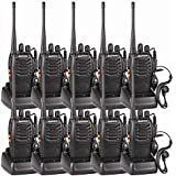 BF-888S 2 Way Radio UHF Single Band FM Transceiver CTCSS/DCS High Illumination Flashlight Ham Radio Walkie Talkie Long Range Black ?-