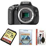 Canon EOS 600D - Cámara Réflex Digital 18.7 MP (Cuerpo) (Reacondicionado Certificado)