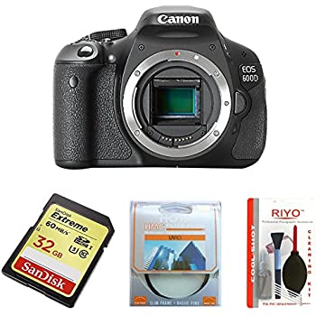 Canon EOS 600D - Cámara Réflex Digital 18.7 MP (Cuerpo ...