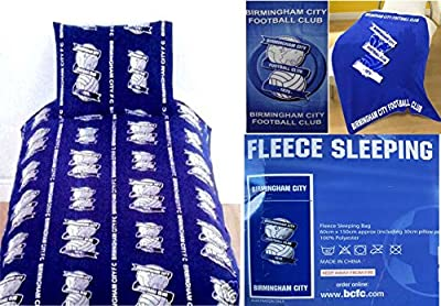 Home Bedding Store 5pce Birmingham City Football Bundle Set Fleece Blanket Beach Towel Set - inexpensive UK light store.