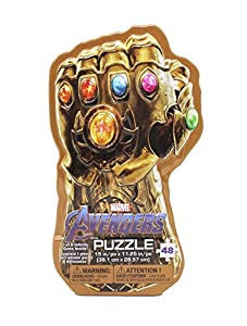 Spin Masters 6047036 Avengers 4 Infinity Gauntlet 2PK Lent Signature Rompecabezas