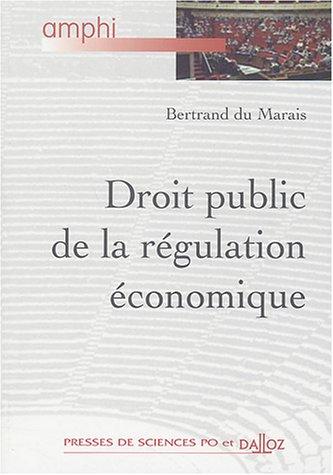 Droit de la régulation économique