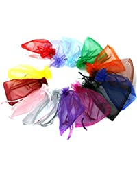 Generic Green : 30pcs/bag, 16 Colors Selection Jewelry Packaging Bags Drawable Organza Bags 20x30cm,Gift Bags...