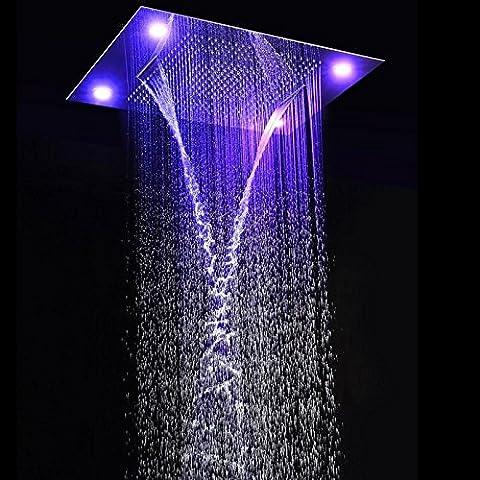 hm Massage LED Dusche Combo mit 31 * 24