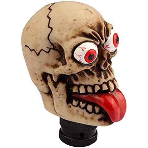 HaoWorld Universal Car Auto Fashion Human Skull