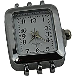Watch Face Rectangle with Multi Strand Catches - (353b-020)