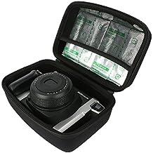 para Fujifilm Instax 300/210 Wide Fotocamera Istantanea.Fits Fujifilm Instax WIDE FILM 10 F. 2 Pack Viajar Difícil Caso Bolso por VIVENS