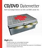 CD/CDV Datenretter, CD-ROM Stellt beschädigte Dateien von CDs und DVDs wieder her. Für Windows 98(SE)/ME/2000/NT4/XP
