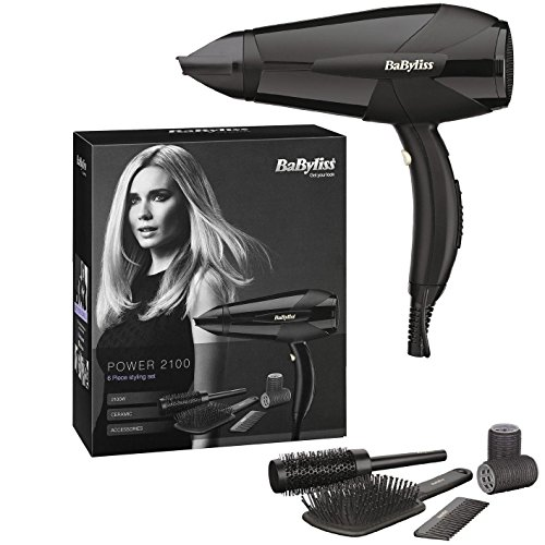BaByliss-Power-2100-Professional-Lightweight-Styling-Electric-Hair-Dryer-Hairdryer-2100W-Black