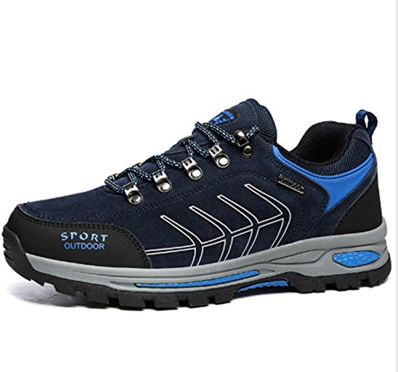 Laufende Schuhe der Männer gehendes wanderndes kletterndes Schuh Freizeit Reise Anti Blockiertiefes Trekking im