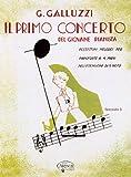 CARISCH GALLUZZI G. - PRIMO CONCERTO GIOVANE PIANISTA VOL. 3 - PIANO 4 MAINS