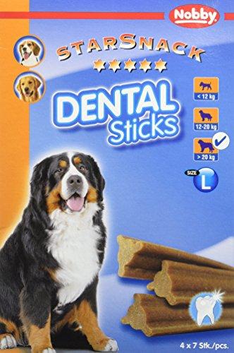 hundeinfo24.de Nobby StarSnack Dental Sticks Monatspack groß; 28 St, 1er Pack (1 x 840 g)