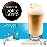 Nescafé Dolce Gusto - Cappuccino Ice - 3 Paquetes de 16 Cápsulas - Total: 48 Cápsulas
