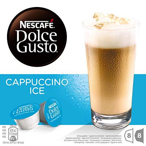 Nescafé Dolce Gusto - Cappuccino Ice - 3 Paquetes de 16 Cápsulas...