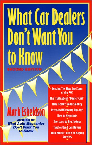 What Car Dealers Don't Want You to Know por Mark Eskeldson