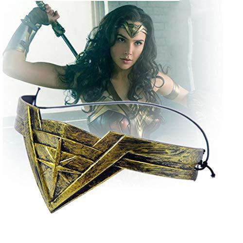 Halloween Wonder Woman Stirnband, Masquerade Bar Performance Mask Liberty Goddess Stirnband (Preis beinhaltet zehn Produkte)