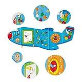 Viga Toys - 50673 - Jeu Mural - Avion