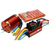 LEOPARD SKYRC 4370KV 9T Brushless Motor & 60A ESC Speed Controller Combo ME720 mit RCECHO Vollversion Apps Ausgabe