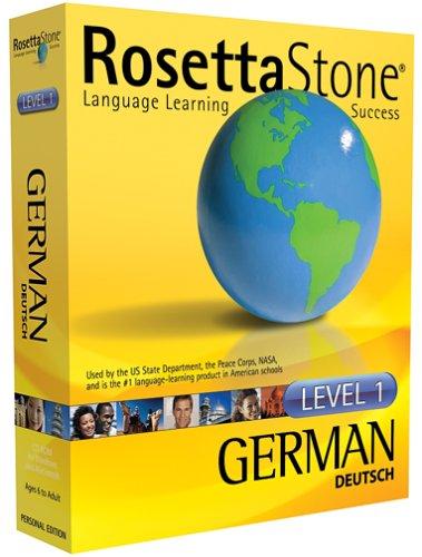 Rosetta Stone Level 1 German  (PC/Mac) (Rosetta Stone Pc)