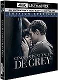 Cinquante Nuances de Grey 4K [4K Ultra HD + Blu-ray + Digital HD - Édition spéciale - Version non censurée + version cinéma]