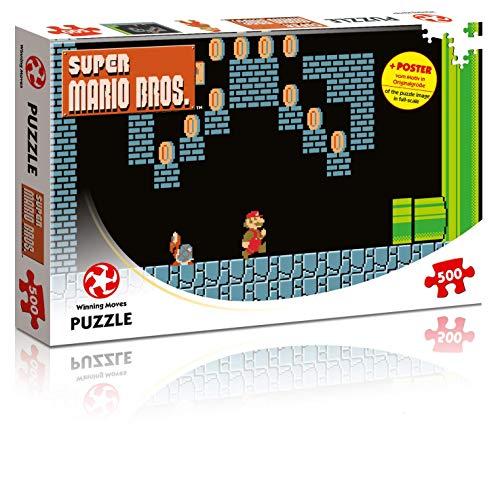 Winning Moves Puzzle Super Mario Bros. Underground, 500 Teile Preisvergleich