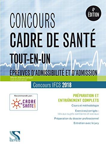 Concours Cadre de Sante 2018 - Tout-en-un