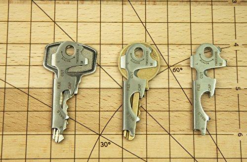Abmessung - Bund - Universal Werkzeug am Schlüsselbund - Schlüsselwerkzeug kaufen - Schlüsselbund Werkzeug kaufen - Mini Werkzeug kaufen