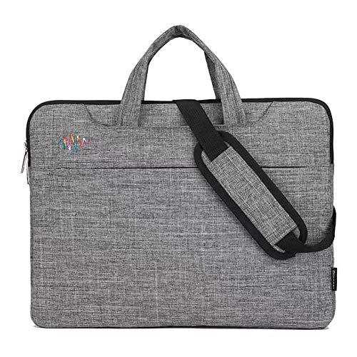YouN Business Nylon Laptop Handtasche Notebook PC Messenger Aktentasche (14,1 Zoll)