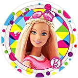 Barbie 'Sparkle' Small Paper Plates (8ct) by Barbie