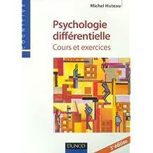 Psychologie différentielle : Cours et exercices