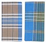 #4: Tech Marketing Men's Cotton Lungi , 2 meter- Pack of 2 (Multi-Coloured)
