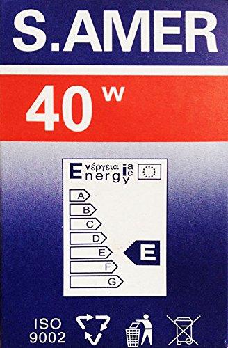 Zoom IMG-1 10 x lampadina 40 watt