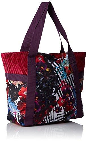 Desigual Woven Bols Shopping Bag a, viola, 45x 13x 34cm, 67x 5sa4