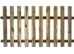 Divisori In Legno Per Giardino.Recinto In Legno Di Pino Cm 180x100h Staccionata Recinzione