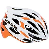 Kask Mojito - Casco de ciclismo multiuso, color blanco/naranja , talla M/48-58 cm