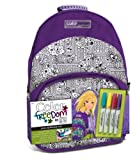 Style Me Up Wooky Colour Freedom Backpack (Purple)