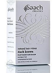 Saach Organics Natural Hair Colour (Dark Brown)