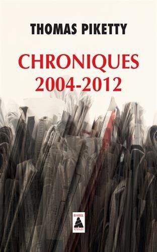 Chroniques 2004-2012 (Babel)