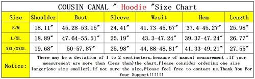 COUSIN CANAL Uomo 3D Hoodies Felpe sportive con cappuccio Zip Sweatshirt Eyes